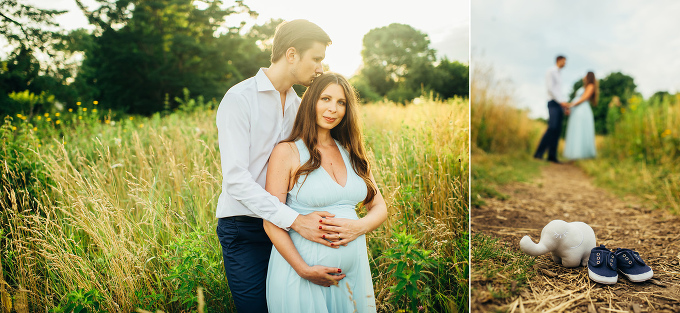 Artistic Chicago Maternity Photography in Lakeview by Yofi Photo